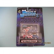 Muscle Machines 40 Willys Pickup with Scoop Stars N Stripes