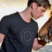 QZ Bodywear Akhilleus Crystal Target Short Sleeved T Shirt 256-914001