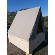 Podsadový stan Osada (plachta) 200 x 200 /150 cm Režná