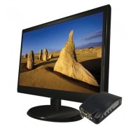 "LCD monitor 19"" s VGA a externí BNC vstup"