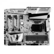 Carte mre Z170A MPOWER GAMING TITANIUM EDITION ATX Socket 1151 Intel Z170 Express - SATA 6Gb/s + M.2 + U.2 - USB 3.1 - 3x PCI-Express 3.0 16x