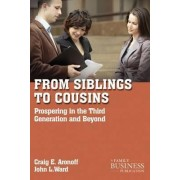 From Siblings to Cousins by Craig E. Aronoff
