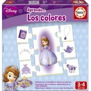 Princesa Sofía - Aprendo los colores, juego educativo (Educa Borrás 15950)