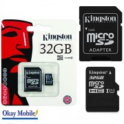Kingstone MicroSD Scheda di memoria 32 GB per Samsung Galaxy Gran Neo Plus