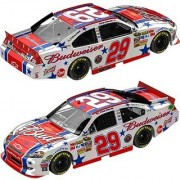 Action 1/24 Kevin Harvick #29 Budweiser 4th of July 2011 Chevy Impala