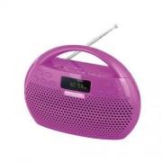 TREVI KB 308 BT Fushia Radio MP3 FM Stereo Bluetooth et fonction mains libres