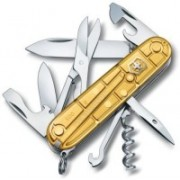 Victorinox Climber Gold Limited Edition 2016 Swiss Army Knife(Gold)