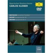 Carlos Kleiber - Bayerisches Staatsorchester - Beethoven, Brahms, Mozart (0044007340172) (1 DVD)