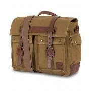 Belstaff Colinial Messenger Canvas Bag Khaki