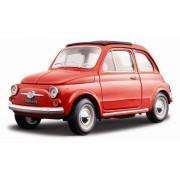 BBurago - 12020 - Voiture sans pile - Reproduction - Fiat 500 F (1965) - échelle 1/18 Coloris aléatoire