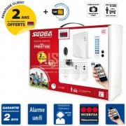 SECURITAS Alarme maison sans fil IP / GSM - pack PRESTIGE