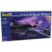 Revell - Maqueta Northrop P-61A/B Black Widow, escala 1:48 (04887)