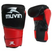 Luva de Boxe Warrior BX Black & Red - 10 OZ