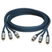 Cable RVB 3 x RCA M-M 1.50m Type YUV