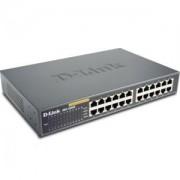 D-Link 24-Port 10/100Mbps Fast Ethernet Unmanaged Switch - DES-1024D