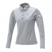 プーマ ゴルフW LS ポロシャツ ウィメンズ quarry heather