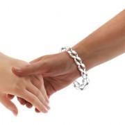 Sterling Silver Link ID Bracelet By Taraash
