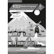 KS3 Maths Progress Progression Workbook Delta 2 by Pearson