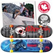"""ADERNALIN THRASHER CANADIAN SKATEBOARD 31""""x8"""""""
