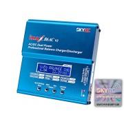 Genuine SKYRC iMAX B6AC V2 Dual Power (6Amps, 50Watts): LiPo, LiIon, LiFe, NiCd, NiMH, Pb Lead Acid AC/DC Professional RC Balancing Battery Charger & Discharger (Version 2) w/ Micro USB Port, Temperature Port, 2S-6S JST-XH Balance Ports