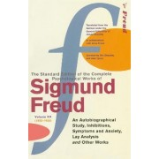 The Complete Psychological Works of Sigmund Freud: An Autobiographical Study, Inhibitions, Symptoms and Anxiety, Lay Analysis and Other Works Vol. 20 by Sigmund Freud