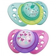Chicco NaturalFit Flair Pacifier Pink 12 Months Plus