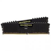 Corsair CMK16GX4M2A2400C16 Vengeance LPX Kit di Memoria RAM per Desktop da 16 GB, 2x8 GB, DDR4, 2400 MHz, con Supporto XMP 2.0, Nero