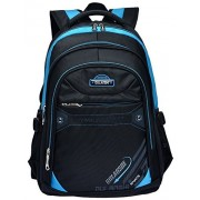 Fashion Backpack Kid's Boy's Girl's Travel School Bag Waterproof Laptop Bag Satchel Backpacks (Blue)