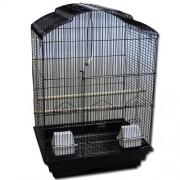 Max 610 Klec černá pro ptáky na papoušky 470 x 350 x 690 mm