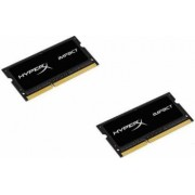 Memorie Lptop DDR3 SODIMM Kingston HyperX Impact Black 16GB (2x8GB) 1866MHz CL11 1.35V
