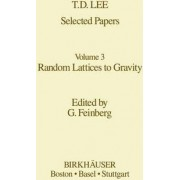 Selected Papers Volume 3: Random Lattices to Gravity: Selected Papers v. 3 by T.D. Lee