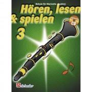 De Haske - Hören, lesen, spielen, Band 3 Klarinette (Boehm), Buch & CD