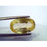 5.56 Ct Unheated Untreated Natural Ceylon Yellow Sapphire Pukhraj