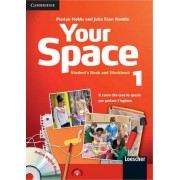 Your Space Level 1 Student's Book and Workbook with Audio CD, Companion Book with Audio CD, Active Digital Book Ital Ed by Martyn Hobbs