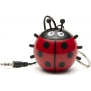 Boxa Portabila KitSound MyDoodle Characters Ladybird, Jack 3.5mm (Rosu)