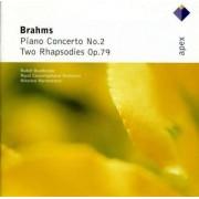 J Brahms - Piano Concerto No.2/ Rhaps (0825646070725) (1 CD)