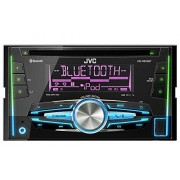 JVC KW-R910BTE Radio para coches (reproducción CD y DVD, USB, Bluetooth), negro (importado)