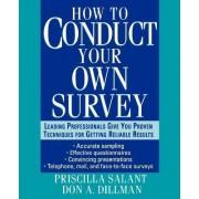 Conducting Surveys by Priscilla Salant