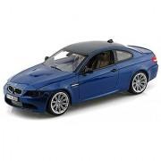 Motormax 1:18 2008 BMW M3 E92 Coupe Utility Car Grey