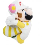 Super Mario Bros Fire Mario Flying Racoon Plush Doll Toy 9 Inch by giftheavenny