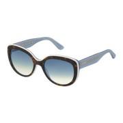 Tommy Hilfiger Ochelari de soare dama TOMMY HILFIGER (S) TH1354/S K18 HAVANA WHITE BLUE