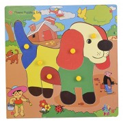 Skillofun Theme Puzzle Standard Dog Knobs, Multi Color