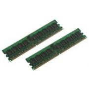 MicroMemory - DDR2 - 4 Go : 2 x 2 Go - DIMM 240 broches - 400 MHz / PC2-3200 - 1.8 V - mémoire enregistré - ECC