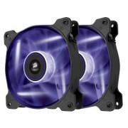 Ventilator 120 mm Corsair AF120 Purple LED Quiet Edition, Twin Pack, CO-9050016-PLED