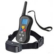 Cães Coleira anti-latido / Coleiras de Adestramento para Cães Anti Latido / Prova-de-Água / LCD / 300M / Vibração / Controle Remoto Sólido