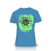 Camiseta Ornament Azul