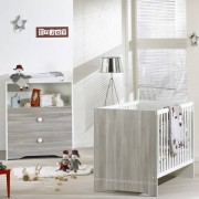 Sauthon meubles Chambre bébé duo loulou lit + commode