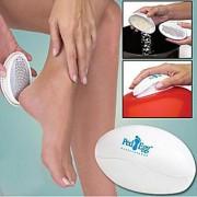 försiktigt bort känslokallt torr hud för smidig vackra fötter vård fotfil fotvård