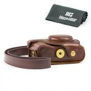 MegaGear Ever Ready Protective Leather Camera Case Bag for Nikon COOLPIX P7700 Nikon COOLPIX P7800