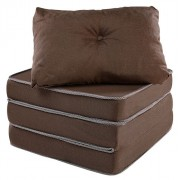 Puff Multiuso 3 em 1 Puff Sofá ou Colchão com Travesseiro